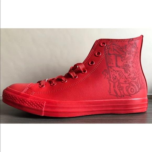 ef1481764a7e Men s Converse CTAS Laser Hi H-Town Houston Shoes